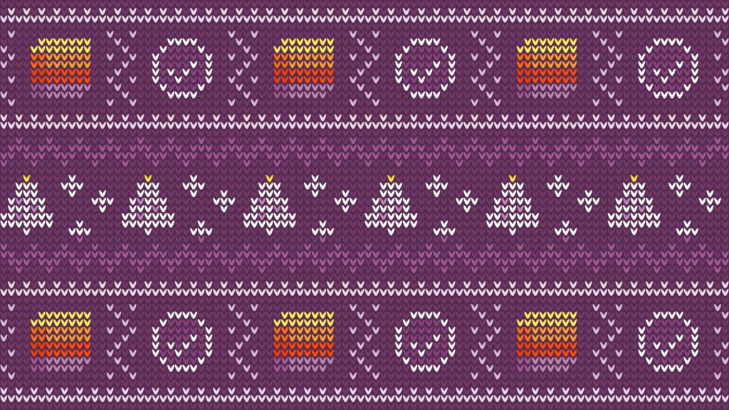 winter sweater free zoom holiday virtual background