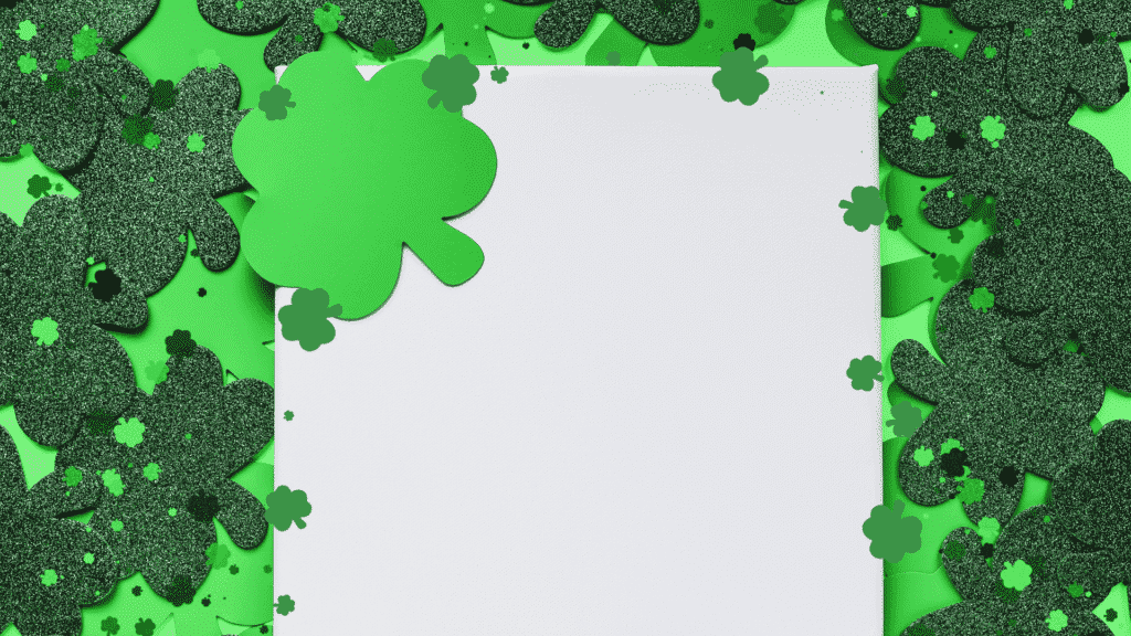 st partricks day theme free zoom virtual background image